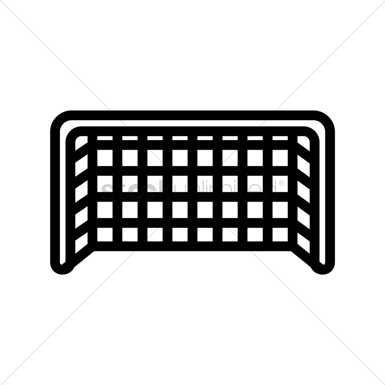 football goal net vector image 1520993 stockunlimited American Football Field Goal Post football field goal post clipart