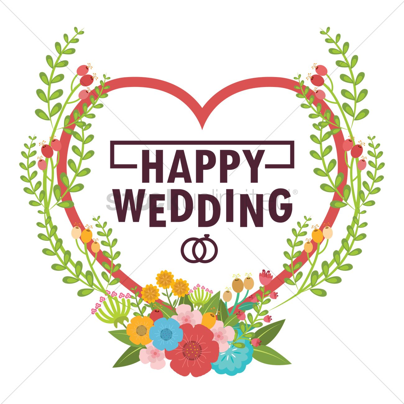 happy wedding vector image 1797297 stockunlimited wedding anniversary clip art free wedding anniversary clip art images