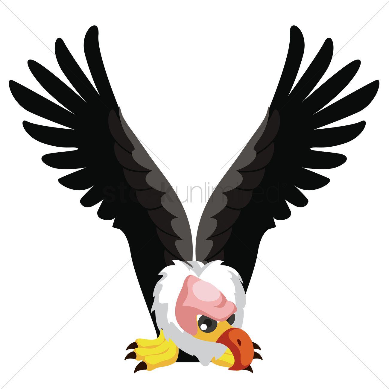 Letter v for vulture Vector Image - 1236521 | StockUnlimited
