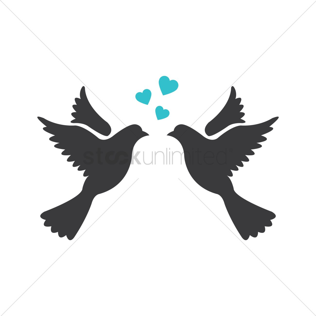 love birds vector image 1326857 stockunlimited love birds clip art image love birds clipart svd