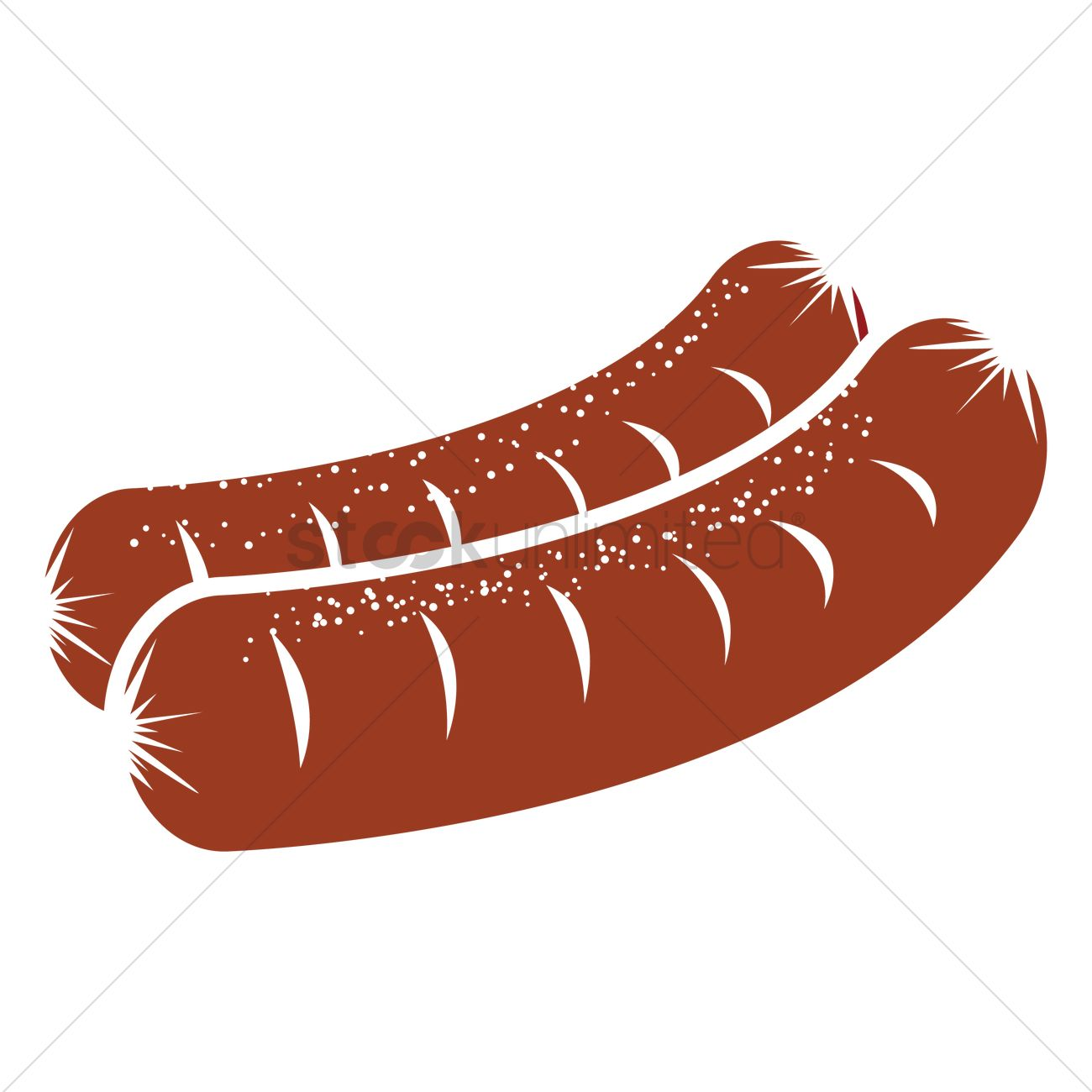 sausages vector image 1875613 stockunlimited