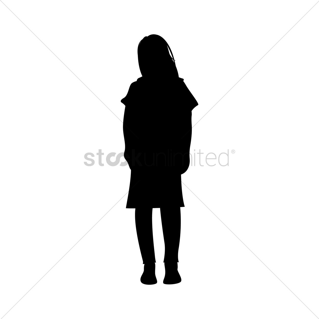Silhouetted Woman Standing | www.imgkid.com - The Image ...