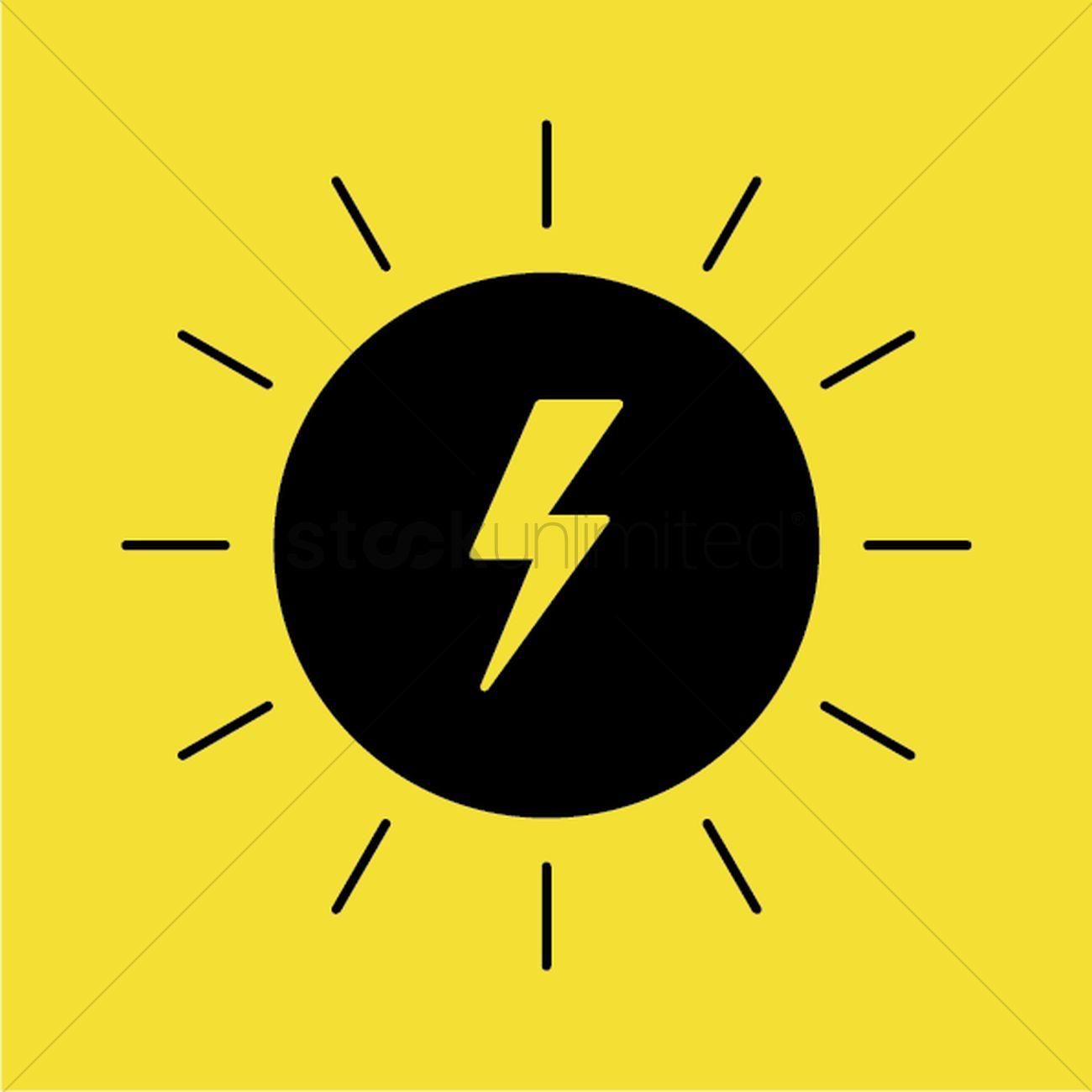 Solar Energy Generator Vector Image 2033441 Stockunlimited