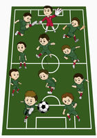 Algeria team formation