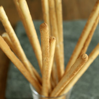 Close up of some breadsticks