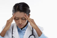 Medical personnel feeling stressed