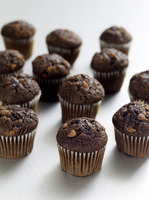 Mini chocolate muffins