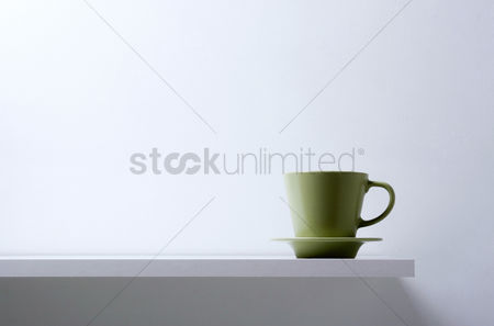 Concepts : Coffee cup and saucer