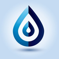 Abstract droplet icon