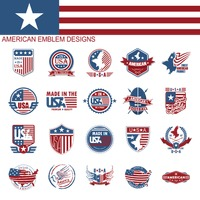 Popular : American emblem designs collection