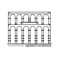 Popular : Aqueduct of segovia