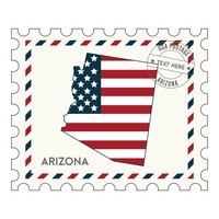 Arizona postage stamp