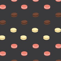 Popular : Background with macaron