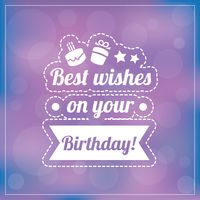 Popular : Best wishes on your birthday