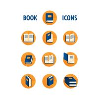 Popular : Book icon collection