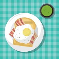 Popular : Bread slice with fried egg