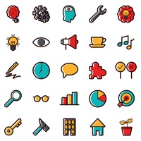 Popular : Business strategy icons