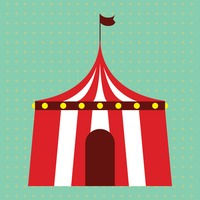 Circus tent  sc 1 st  StockUnlimited & Circus Tent Tents Shape Shapes Design Designs 3d Three Dimensional ...