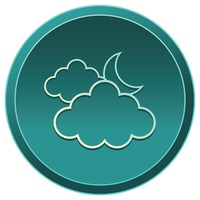 Popular : Clouds with moon