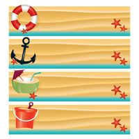 Popular : Collection of beach banners