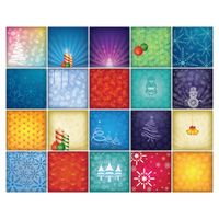 Collection of christmas background design