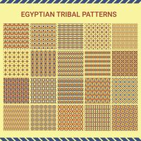 Collection of egyptian tribal pattern
