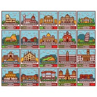 Popular : Collection of italian places