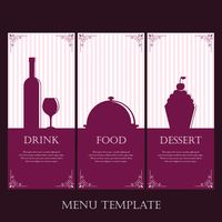 Popular : Collection of menu template