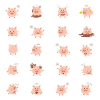 Collection of pig expressions