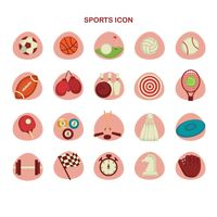 Collection of sports icon