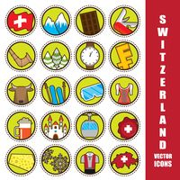 Popular : Collection of switzerland icons