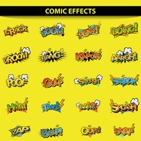 Comic effect set