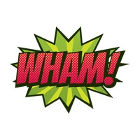 Popular : Comic effect wham