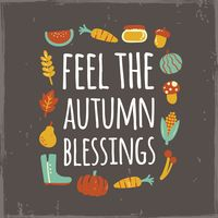 Feel the autumn blessing