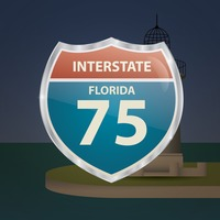 Popular : Florida 75 route sign