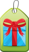 Popular : Gift package tag