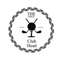 Golf club head label