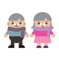 Popular : Grandfather and grandmother