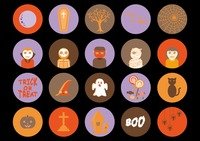 Popular : Halloween icons