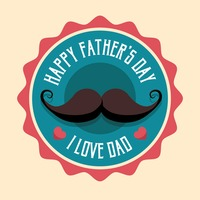Popular : Happy father s day label
