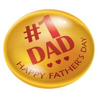 Popular : Happy father s day lapel pin design