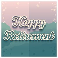 Happy retirement greeting