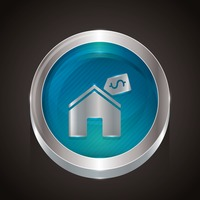 Popular : Home with price tag icon
