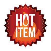Hot item label
