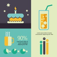 Infographic of food and drink