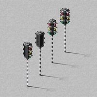 Isometric traffic signal