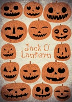 Jack-o-lantern background