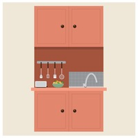 icon icons kitchen kitchens top tops cabinet cabinets cupboard