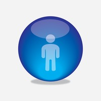 Popular : Man button