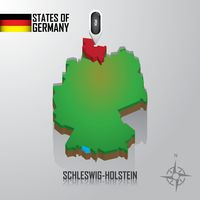 Popular : Map of schleswig-holstein  germany